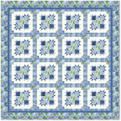 Bloomin Stars Bed Quilt Kit