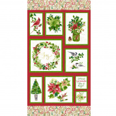 Merry & Bright - Holiday Watercolor Multi Panel