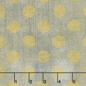 Grunge Hits the Spot - Grey Couture Metallic Yardage