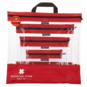 Missouri Star's SEEYOURSTUFF 4 Bag Set - Red
