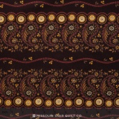 Little House on the Prairie - Mansfield Brown Red Yardage