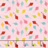 Happy Day - Happy Kites Pink Yardage