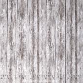 Naturescapes - Wood Slats Grey Yardage