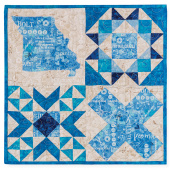 Quilters Trek 2020 Kit - True Blue