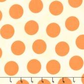 Mon Cheri - Hot Date Dot Fuzzy Peach Yardage