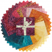 Sunset Plumes Batiks Stamps