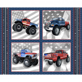 American Truckers - Trucks Block Multi Panel