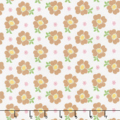 Bake Sale 2 - Bake 2 Floral White Yardage