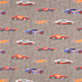 Hot Wheels - Main Gray Yardage