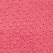 "Cuddle Embossed Dimple - Watermelon 60"" Minky Yardage"