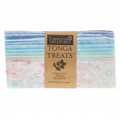 "Tonga Treats Batiks - Buttercream 10"" Squares"