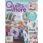 Better Homes & Gardens Quilts and More Summer 2018