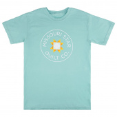 Missouri Star Round Neck Mint Comfort T-Shirt - XL