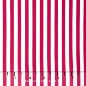 Lost and Found America - Americana Stripe Red Yardage