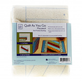 Jakarta Quilt As You Go Place Mat Preprinted Batting