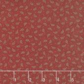 Sweet Holly - Evergreen Red Yardage