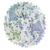 Watercolor Hydrangeas Charm Pack