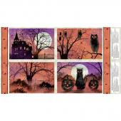Frightful Night - Haunted Multi Placemat Panel