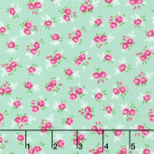Guest Room - Sweet Floral Grass Yardage