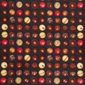 Novelty - Chocolate Truffles Yardage