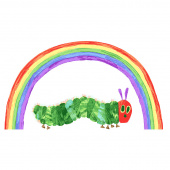 The Very Hungry Caterpillar - Rainbow Caterpillar White Panel