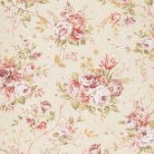 Zellie Ann - Erma's Bouquet Beige Yardage