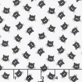 Costume Maker's Ball - Cat Buttons Cream Yardage