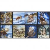 North American Wildlife - Animals Earth Digitally Printed Panel