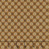 Buttermilk Basin's Pumpkin Farm - Checkerboard Foulards Gold Yardage