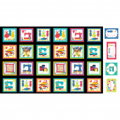 Sew Excited - Sew Excited Boxes Multi Panel