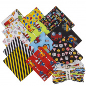 My Favorite Trucks Fat Quarter Bundle