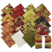 Bounty of the Season Meteallic Fat Quarter Bundle