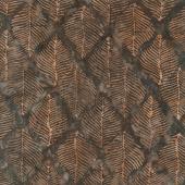 Splendor Batiks - Beech Leaves Earth Yardage