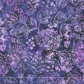 "Tonga Batiks Wide - Embroidery Dewberry 106"" Wide Backing"