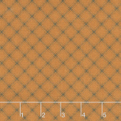 October Morning - Trellis Orange Yardage