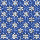 Festival of Lights - Star of Peace Royal Yardage