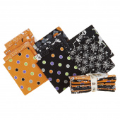 Ghostly Glow Town Glow in the Dark Fat Quarter Bundle