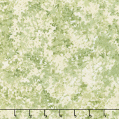 Sensibility - Packed Lilacs Green Yardage