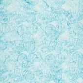 Tonga Batiks - Beach Stripe Texture Aqua Yardage