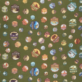 National Parks - Patches Green Yardage