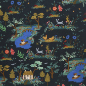 English Garden - Garden Toile Dark Yardage