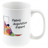 Fabric Aquisition Expert Coffee Mug