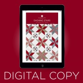 Digital Download - Dashing Stars Quilt Pattern by Missouri Star