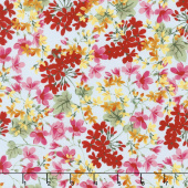 Farmhouse Floral - Floral Blue Yardage