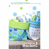 2 Fat Quarter Bucket! Pattern