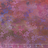 Diaphanous - Enchanted Vines Magenta Digitally Printed Yardage
