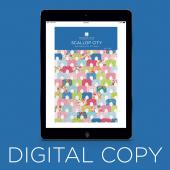 Digital Download - Scallop City Quilt Pattern by Missouri Star