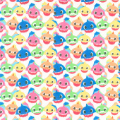 Baby Shark - Family Packed Multi Yardage