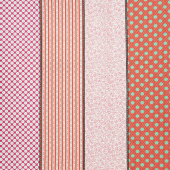Looking Forward - Lollies Pink Multi Yardage