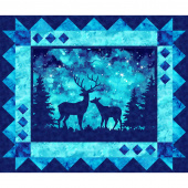 Artisan Spirit - Imagine Novelty Deer Azurite Digitally Printed Panel